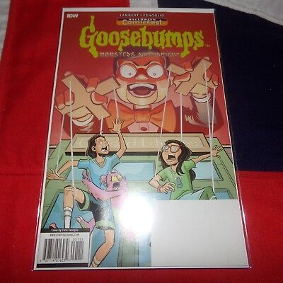 Goosebumps Monsters At Midnight #1 - Halloween ComicFest Special Edition - IDW