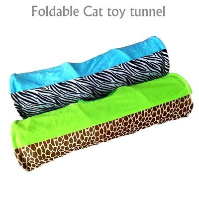 Pet Cat Toy Funny Tunnel Hanging Ball Tube Play Supplies Training Kitten  Indoor