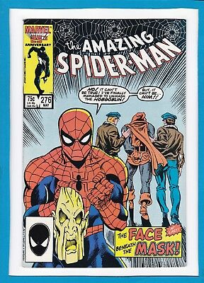 """Amazing Spider-Man #276_May 1986_Very Fine+_Hobgoblin_""""face Beneath The Mask""""!"""