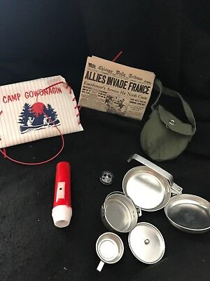 American Girl Pleasant Company Molly's - CAMPING EQUIPMENT