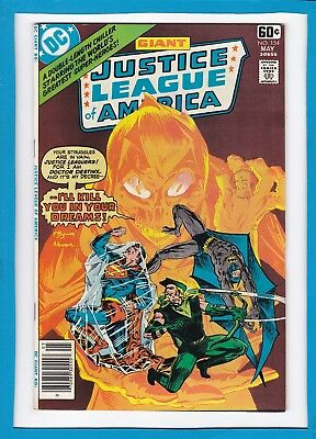 Justice League Of America #154_May 1978_Very Fine/near Mint_Bronze Age Dc Giant!