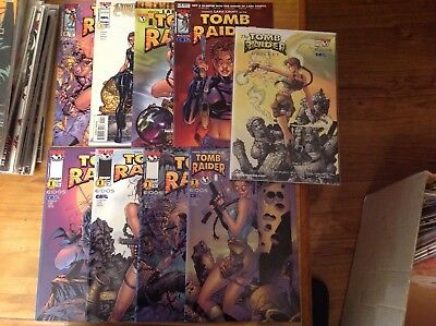 Lara Croft Tomb Raider 9 Issues. Gallery, 1/2, Preview Edition, Witchblade 0 & 1