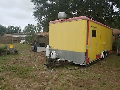 food trailer for sale 8 1/2 ft wide and 20 ft long