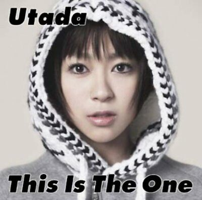 Utada Hikaru CD This Is The One Free Shipping with Tracking# New from Japan