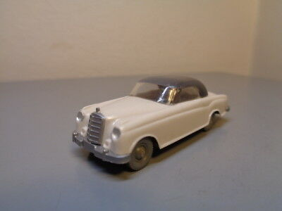 Wiking Germany Vintage 1960's Mercedes Benz 220 S Cabriolet Ho Scale Mint Cond.
