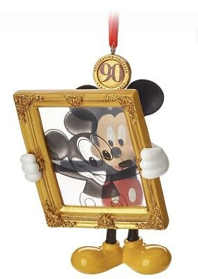 Genuine Disney Store Mickey Mouse Legacy Sketchbook Ornament - Limited Release