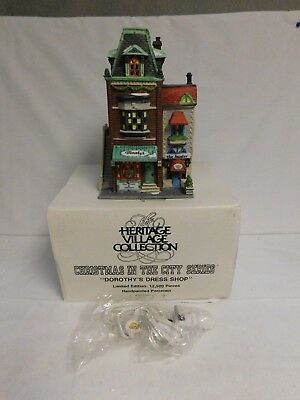 Dept. 56 ~ Christmas In The City Series  ~ Dorothy's Dress Shop ~ #59749