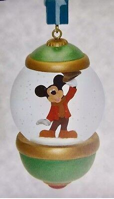 Disney 30th Anniversary Mickey Mouse Ornament 2017 - A Christmas Carol