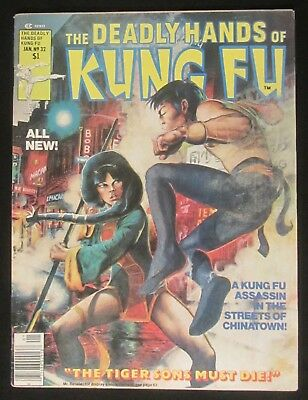 Deadly Hands of Kung Fu #32 VF-7.5..1st Daughters of the Dragon c/sty by Rogers