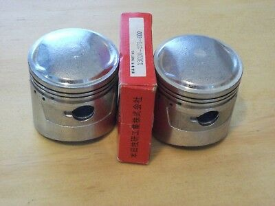 NOS Honda 305 CB77 CL77 Oversize Pistons and Rings. .25 mm  oversize.
