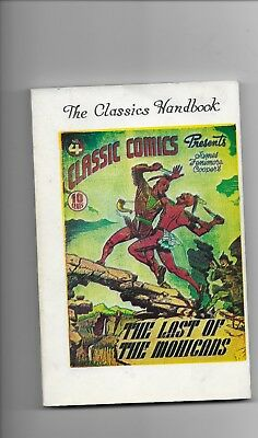 The Classics Handbook date unknown #273 of 300 copies fn (6.0)