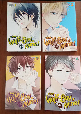 That Wolf Boy Is Mine 1-4 Kodansha Comics Lot Manga Yoko Nogiri