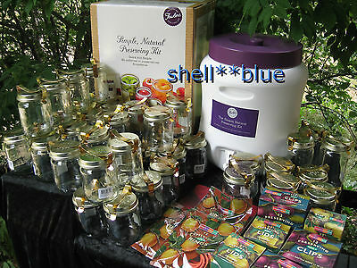 NEW Fowlers Vacola Simple Natural Preserving  Kit w/39 JARS EXTRA LARGE KIT