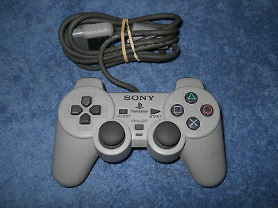 Sony Playstation Controller SCPH-1200 tested working rumble PS1 DualShock Analog