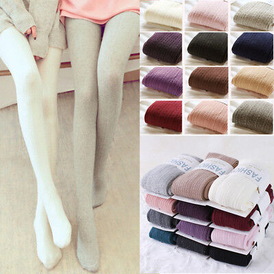 Women Winter warm Pantyhose thermal Tights Thick lady Seamless Stockings Cotton