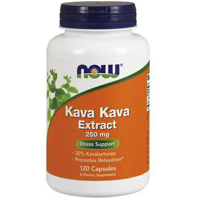 Kava Kava 120 Caps 250 mg by Now Foods