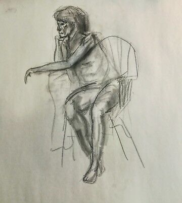Illustration Figure on a Chair