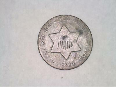 1851 Three Cent Piece SILVER (CC4551)
