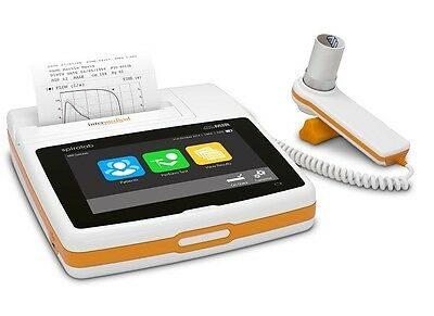 NEW MIR Spirolab Portable Desktop Bluetooth Spirometer with 7 Inch Touch Screen