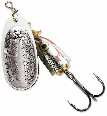 Blue Fox Classic Vibrax Wildeye Shiner Series Inline Spinner - Coho & Trout Lure