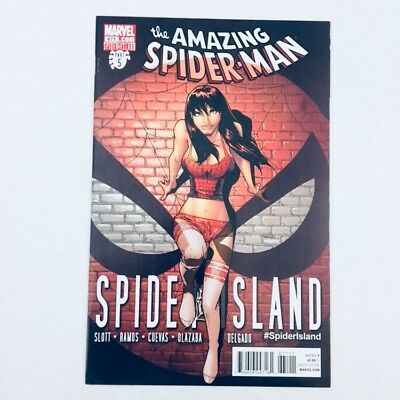 AMAZING SPIDER-MAN #671 Ramos Mary Jane Cover Marvel Comics 2011 NM!!!