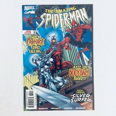 AMAZING SPIDER-MAN #430 Marvel Comics 1998 Cosmic Carnage Silver Surfer NM!!!