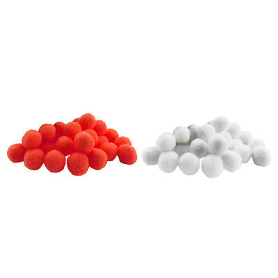 Pack of 200 Fluffy Pom Poms Mini Craft Mixed Colors 18mm Small Pompom Ball