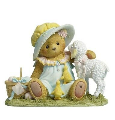 "Cherished Teddies ""easter New Beginning"" Deandra Lamb #4044691  * Free Shipping"