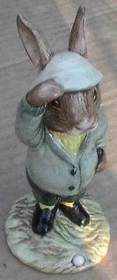 """VERY RARE Royal Doulton""""Bogey Bunnykins"""" GREAT Fathers Day Or Birthday Gift !"""