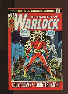 Warlock 2 FN/VF 7.0 *1 Book* Vol 1:(1972-1976) Marvel! Starlin! Counter-Earth!