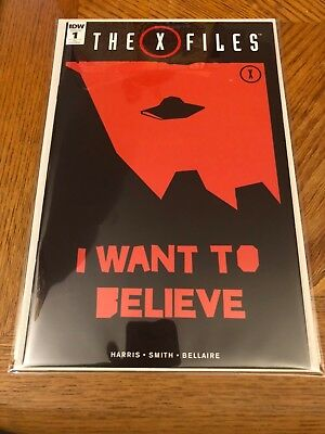 X-Files #1 I Want to Believe Graphic Cover Variant