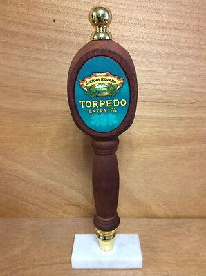 "Sierra Nevada Torpedo Extra IPA Tap Handle - Wood & Free Shipping - 12.5"" Tall"