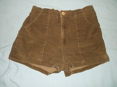 VTG 80's PGE Corduroy short shorts 32 brown OP Ocean Pacific Beach Skate Surf