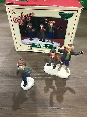 Dept. 56 A Christmas Story Scut Farkus & His Toadies