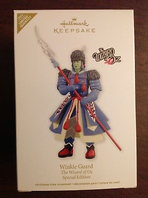 Hallmark Ornament The Wizard of Oz, 2012 Winkie Guard, Special, Limited Quantity