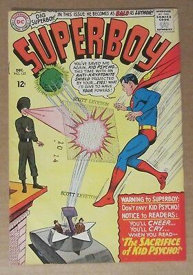 Superboy #125  (1965, DC)  FN 6.0...Free Shipping!!!