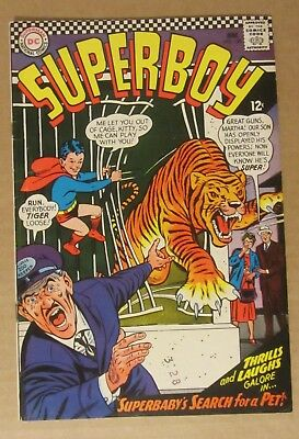 Superboy #130  (1966, DC)  FN 6.0...Free Shipping!!!