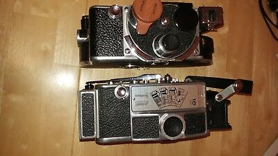 Bolex 16mm CAMERA WITH 3 LENSES
