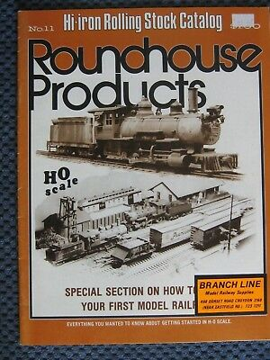 Roundhouse Products Catalogue 1977. 31 Pages.