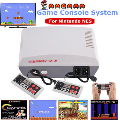 Classic Edition Entertainment System Game Console+2 Controller For Nintendo NES