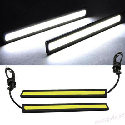New Waterproof COB Car LED Strip Light for DRL Fog Light Driving White Lamp 12V/