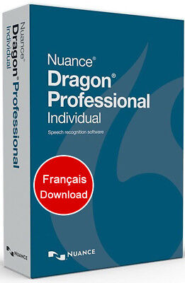 Nuance Dragon Professional Individual 14 French - Français, Download