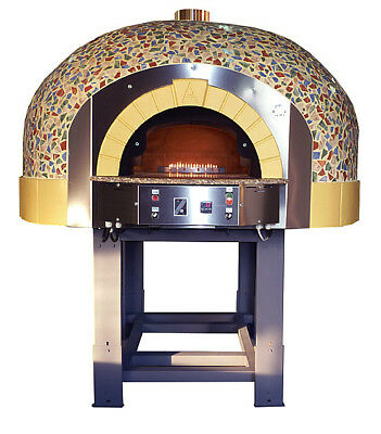 AMAZING COMMERCIAL GAS PIZZA OVEN MIXED MOSAIC FINISH - price incl vat!