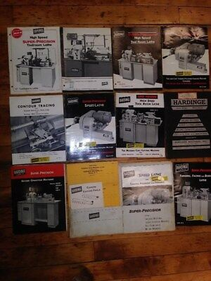 LargeMachine Manuals Lot! Lathe, Milling, Sawing, GrindingEtc. Over 100 pieces