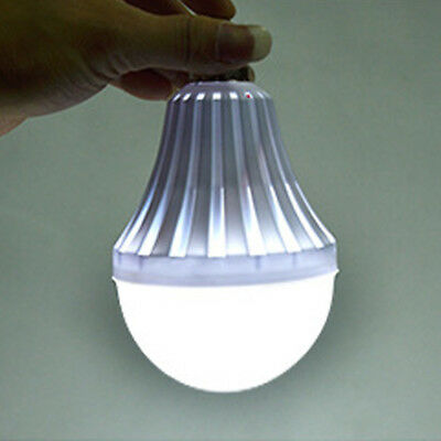 E27 Energy Saving LED Smart Emergency Light Bulb Rechargeable Intelligent Lamp