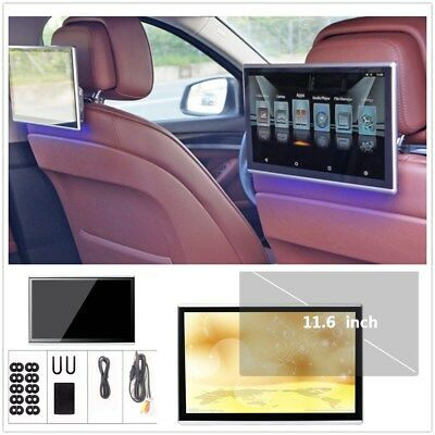 "Android 6.0 11.6"" Color TFT LCD Touch Screen Display Headrest Rear Seat Monitors"