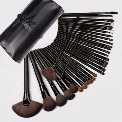32 Pcs Professional Make Up Brush Set Foundation Brushes Kabuki Fan Brushes