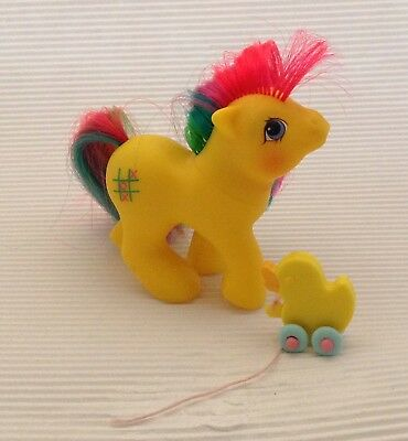 My Little Pony G1/  Baby Tic-Tac-Toe / Baby Trixi / 1986