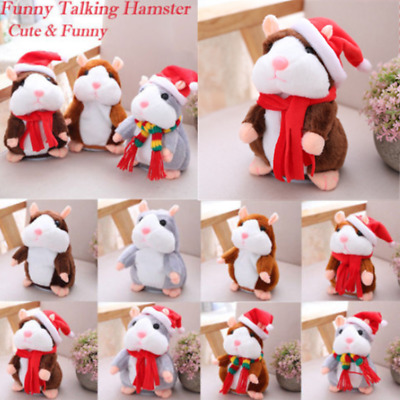 Cheeky Hamster Christmas Baby Kids Gift talking hamster Free Fast Shipping USA