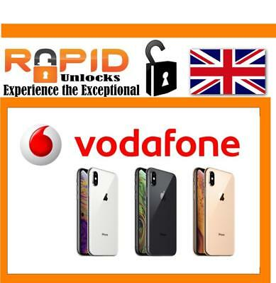 Unlocking Fast 100% Service For Iphone Xs Xs Max No Sim Required Vodafone Uk